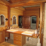 Bathroom remodel completed by home remodeling company Hedrick Creative Building, LLC in Lexington, NC