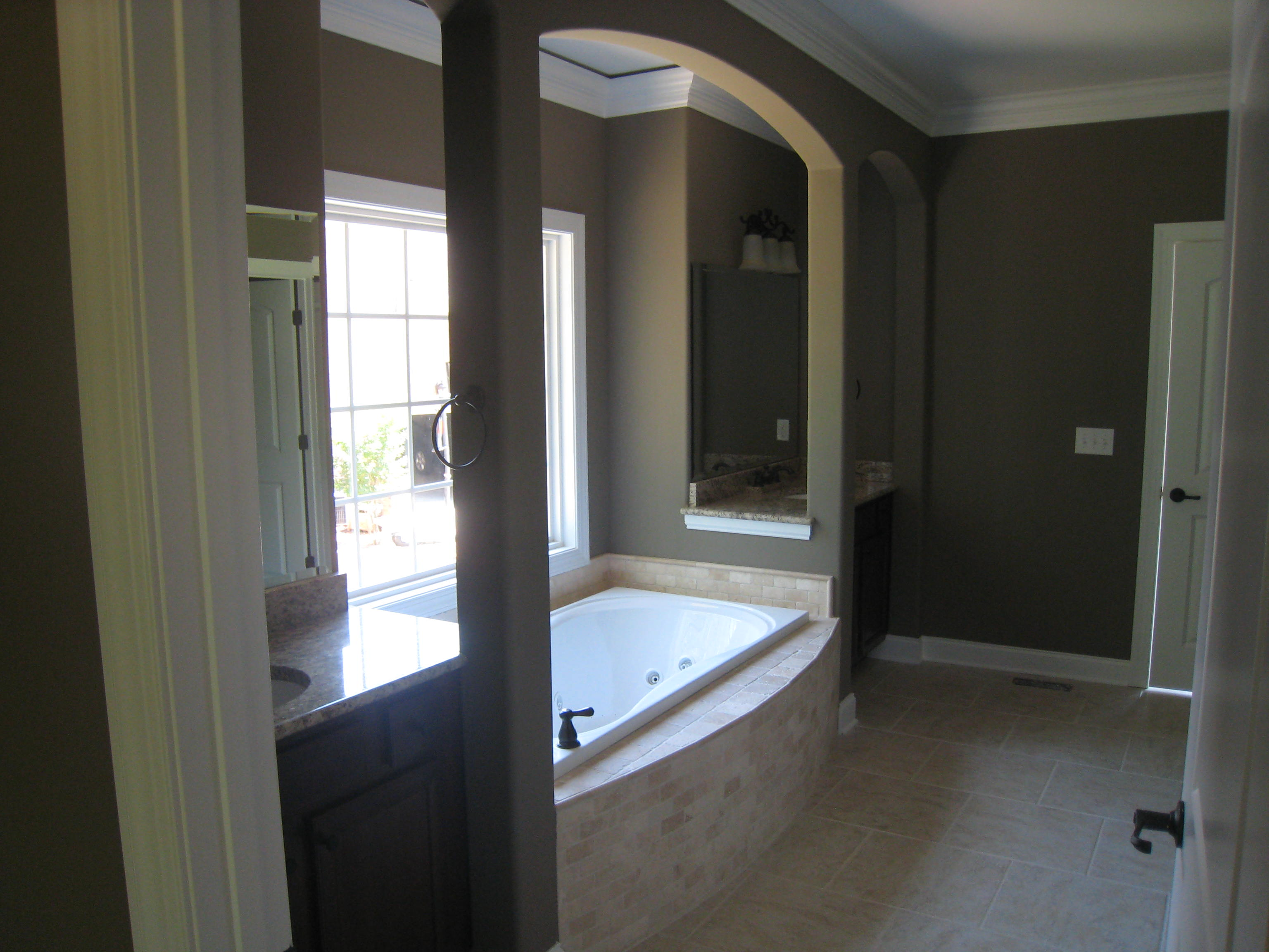 Bathtub design and installation executed by Hedrick Creative Building, LLC in Lexington, NC
